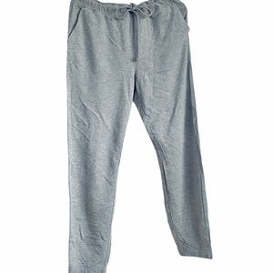 Joe's Sweatpants Joggers Grey Cotton Jersey New